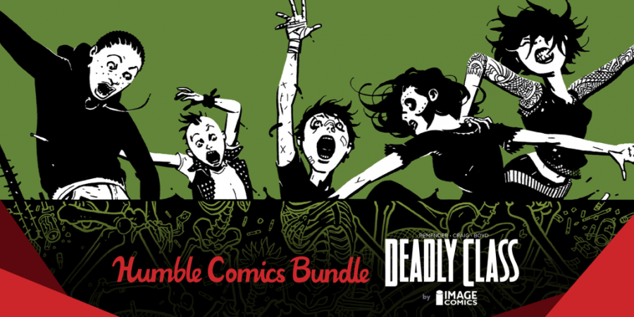 Name your own price for The Humble Comics Bundle: Deadly Class by Image Comics!
