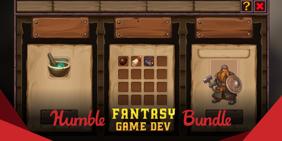 Name your price for great art assets in The Humble Fantasy Game Dev Bundle!