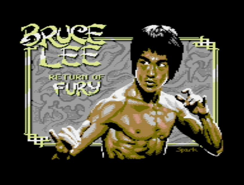 Amazing classic Bruce Lee videogame remix now out as Bruce Lee - Return of Fury for C-64!