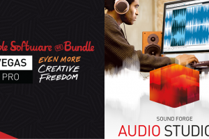 Pay what you want for VEGAS Pro 15 Edit, SOUND FORGE Audio Studio 12, Fastcut Plus Edition, and more!
