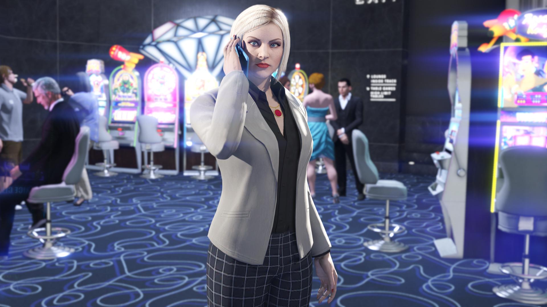 Grand Theft Auto V Releases New Diamond Casino Update
