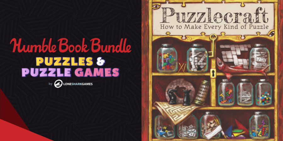 Pay what you want for The Humble Book Bundle: Puzzles & Puzzle Games by Lone Shark Games!