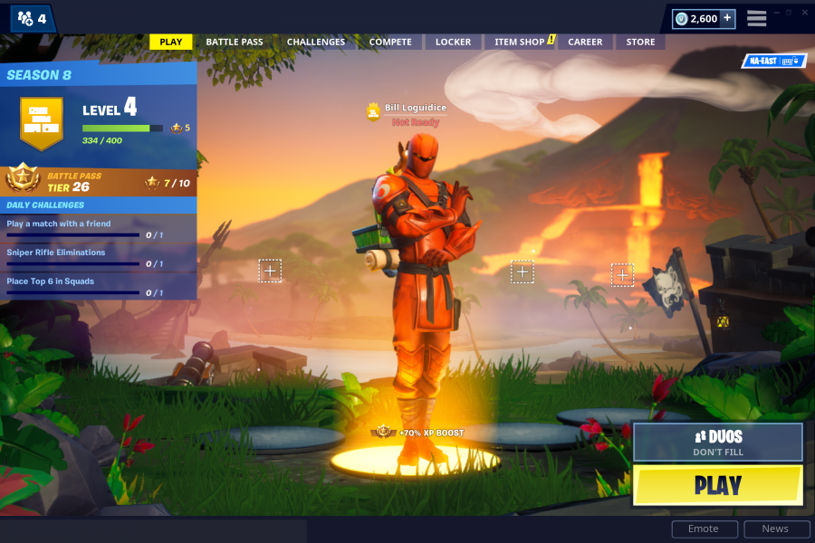 How to Select and Change the Skin in Fortnite