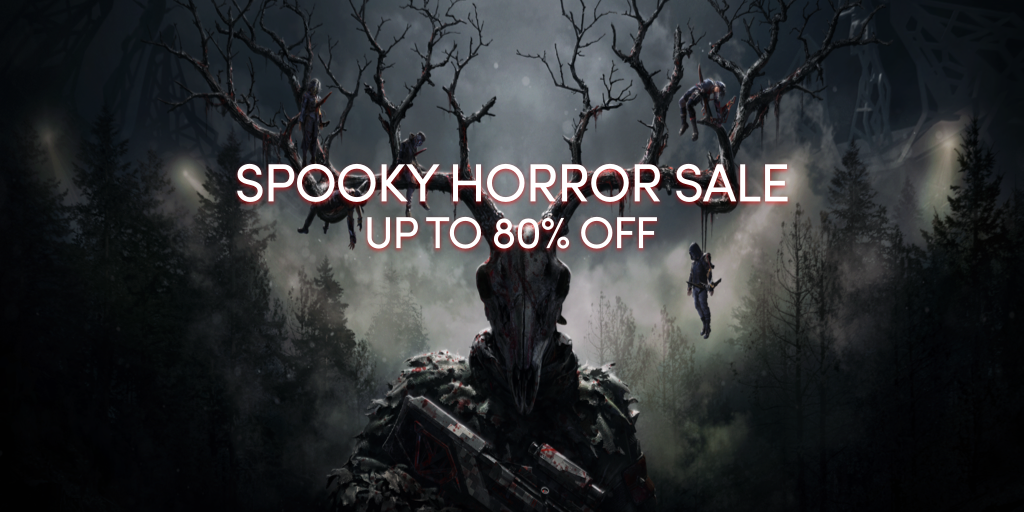 The Spooky Horror Sale - Up to 80% off great games on Steam