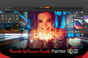 Pay what you want for the Humble Software Bundle: Painter - Create With Confidence (Corel Painter 2019, Gravit Designer PRO, etc.)!