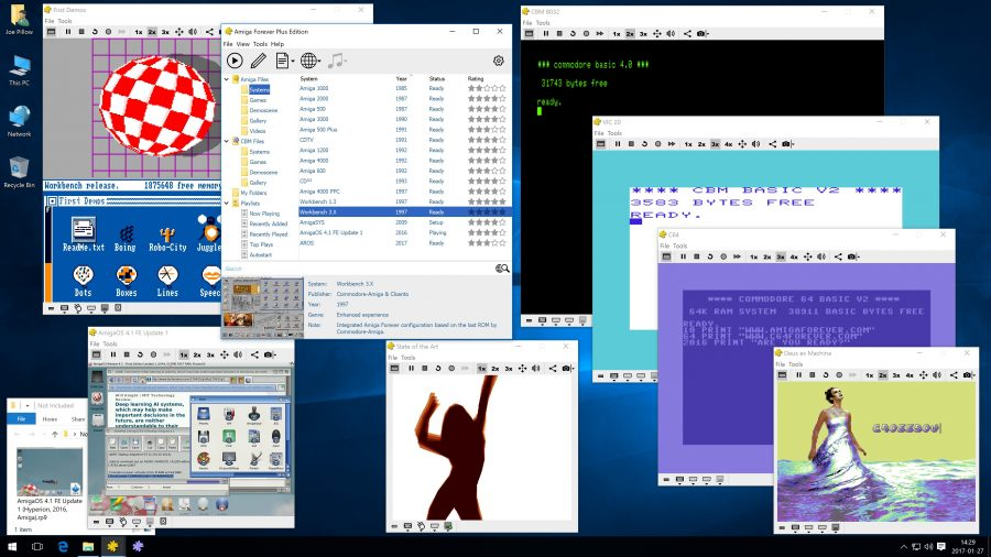 "Top Emulators Amiga Forever and C64 Forever 8 Receive ""R2"" Update"