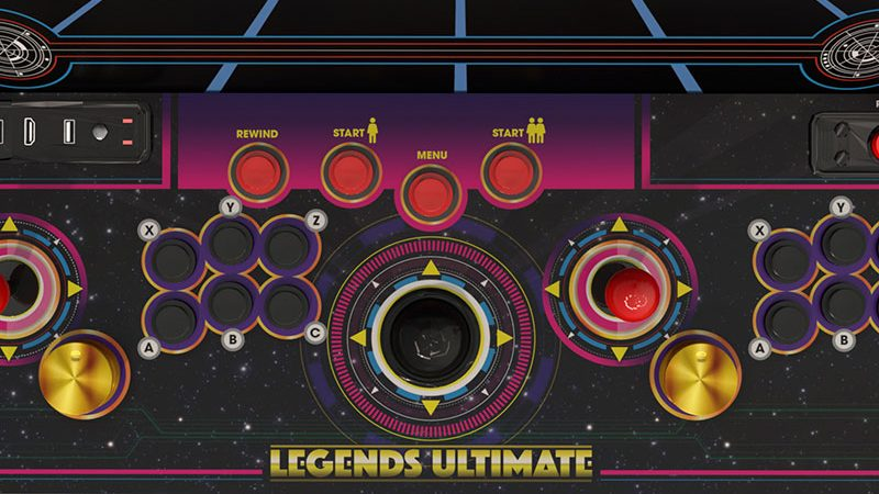 Legends Ultimate full-size home arcade machine now available!