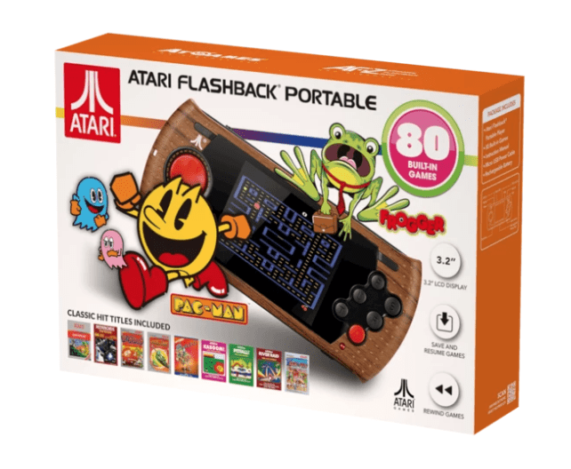 Full Game List for the Atari Flashback Portable (2019)