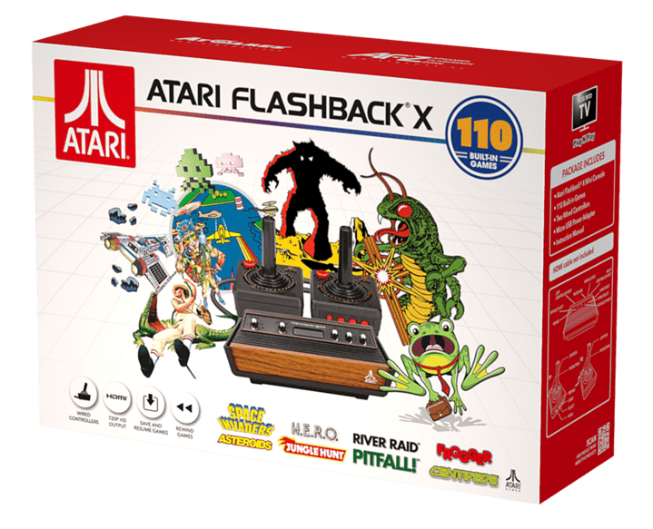 Full Game List for the Atari Flashback X (2019)