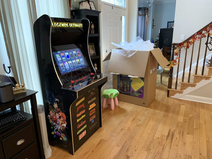 Unboxing and assembly of the AtGames Legends Ultimate Home Arcade Machine – Time Lapse