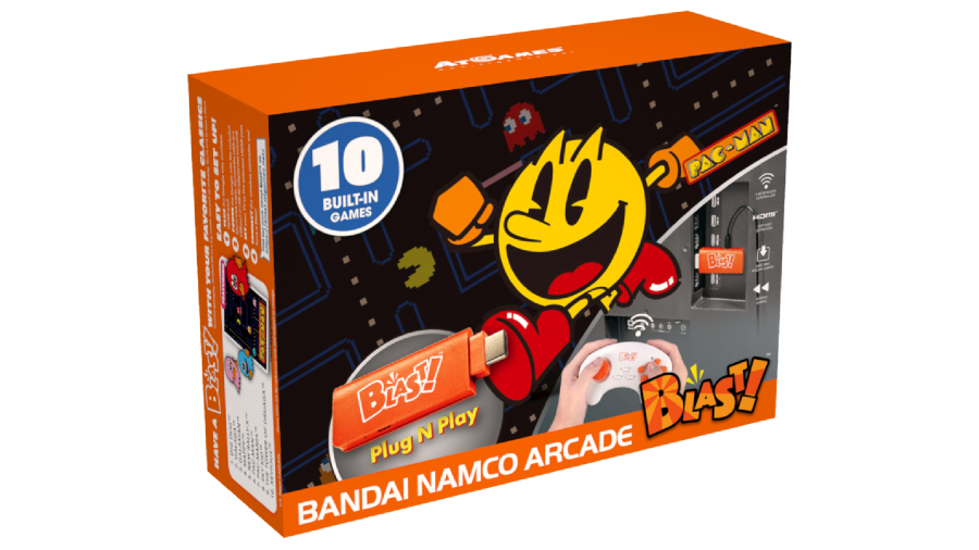Full Game List for the AtGames Bandai Namco Arcade Blast! (2019)