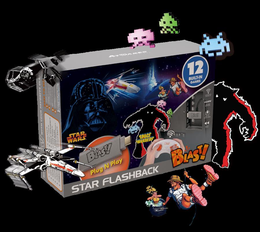 Full Game List for the AtGames Star Flashback Blast! (2019)