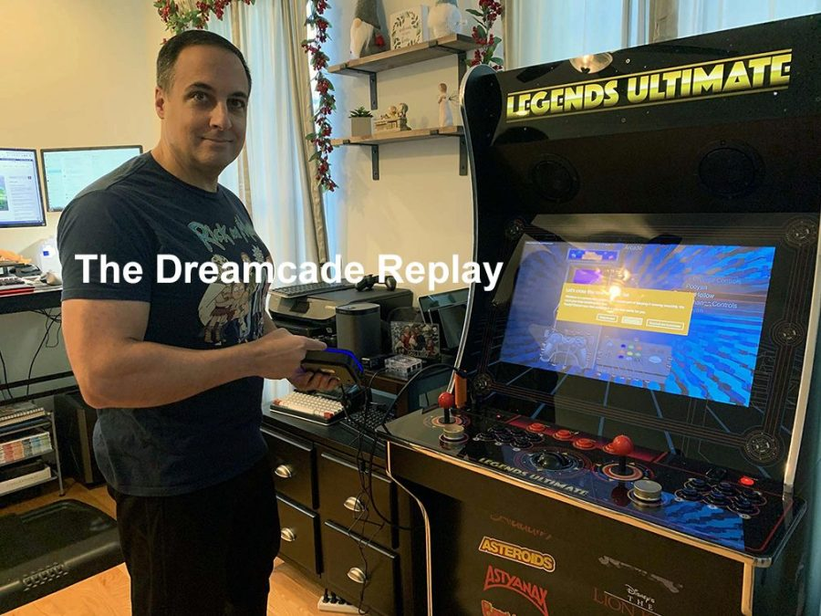 The Dreamcade Replay running on the Legends Ultimate Home Arcade