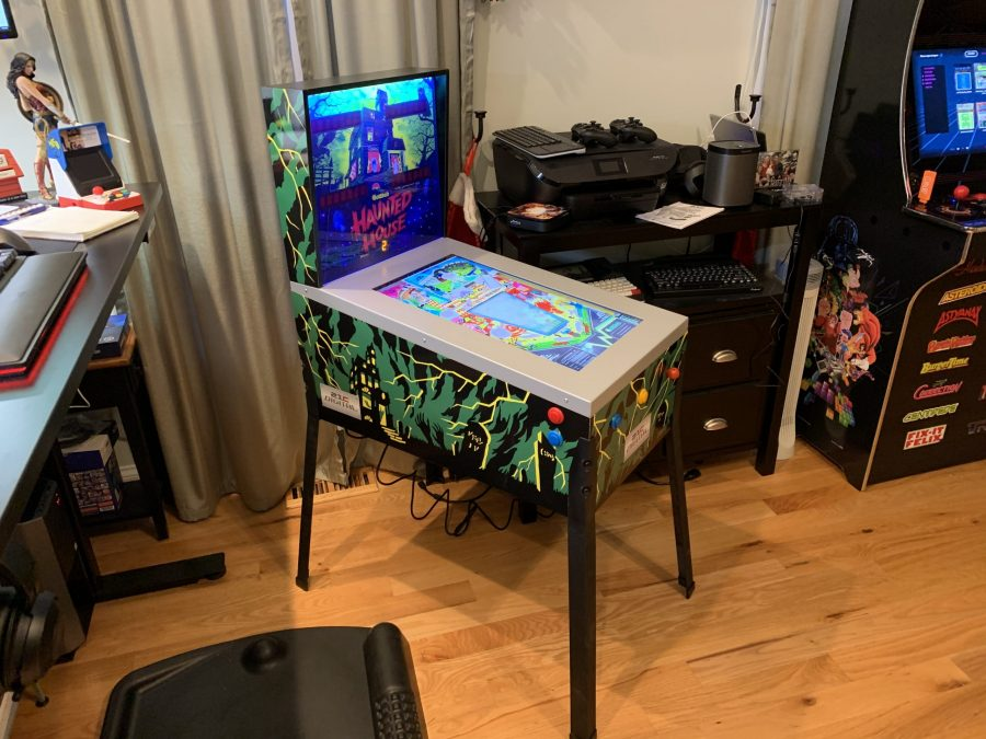Hands-on Impressions for Toy Shock Taiyo 12-in-1 three quarter scale home pinball machine with Haunted House, Black Hole, and more