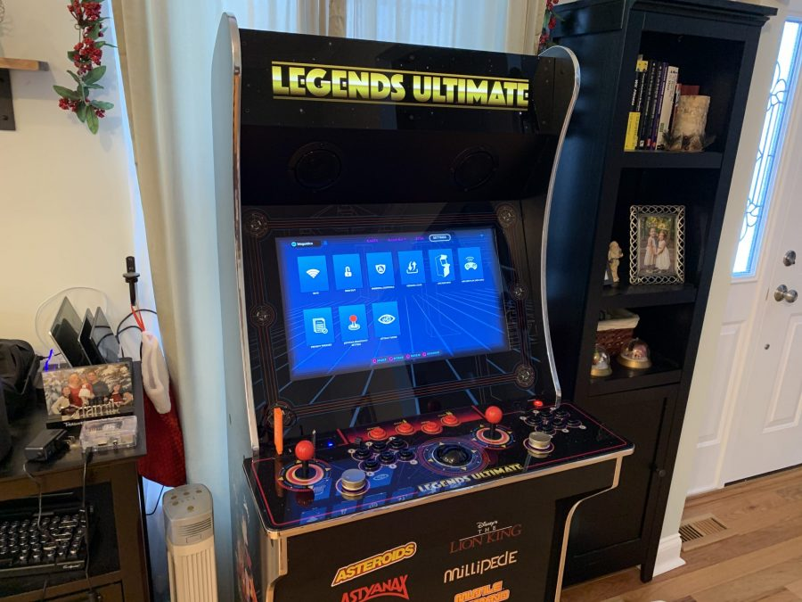 Latest firmware update 3.0.18 (Dec 11, 2019) for the full-size Legends Ultimate home arcade adds Trackball and Spinner sensitivity adjustments and more!