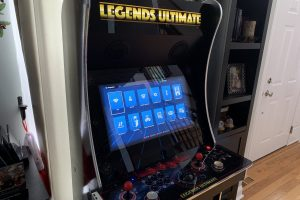 Legends Ultimate full-size home arcade firmware version 4.0.0 (Jan 1, 2020) released. Bluetooth and more!