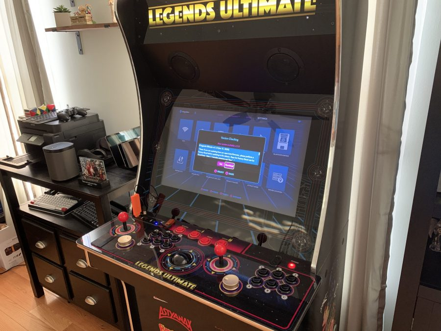 Legends Ultimate home arcade firmware update 4.1.0 is now out