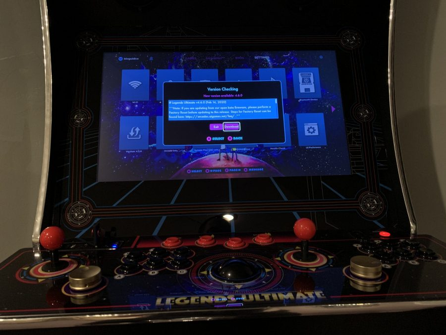 Legends Ultimate home arcade firmware 4.6.0 is out – Control mirroring is now active!