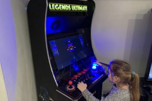 The GRS Tron Arcade Flight Stick and the AtGames Legends Ultimate home arcade