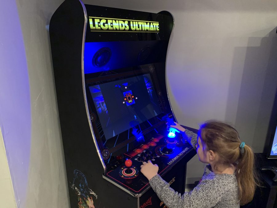Installing the GRS Tron Arcade Flight Stick in the AtGames Legends Ultimate home arcade