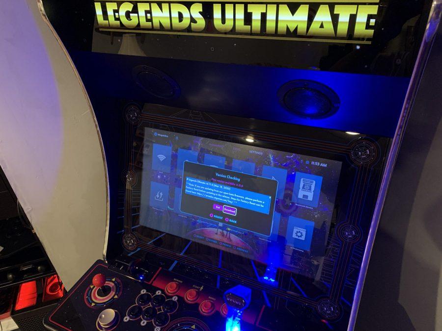 Legends Ultimate home arcade firmware update 4.11.0 - Light gun support!
