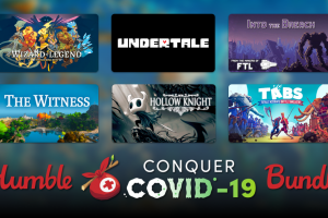 Just $30 for over $1000 worth of Steam games and ebooks (for a good cause) in the Humble Conquer COVID-19 Bundle!