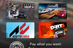 Pay just $1 for a bundle of great Steam PC racing games in the Humble Just Drive Bundle – NASCAR Heat 4, Project CARS 2, Road Redemption, etc.