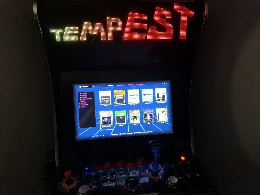 Legends Ultimate home arcade firmware 4.28.0 - Three-way voice chat and leaderboards for Night Slashers and Tempest