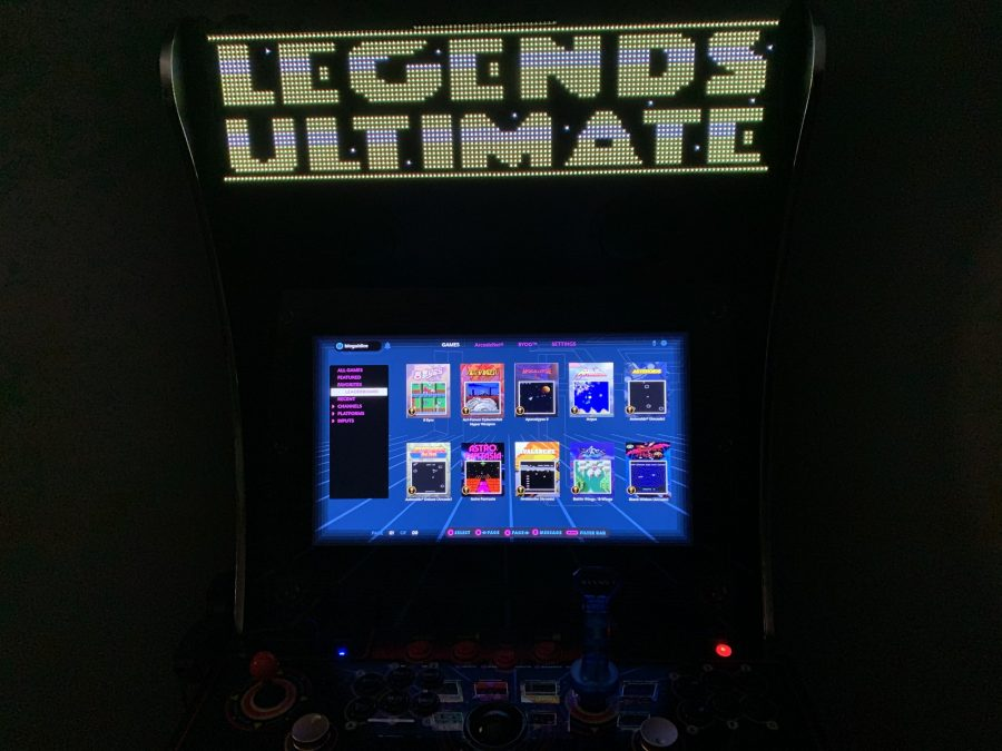 Legends Ultimate home arcade firmware 4.29.0 - Voice chat updates, ArcadeNet player-swap, and new games added to global leaderboards