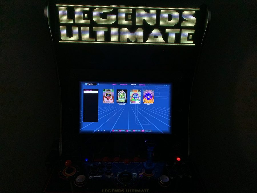 Legends Ultimate firmware update 4.30.0 - Visual Pinball, Global Leaderboards for Chimera Beast and Joe & Mac 2: Lost in the Tropics, and more