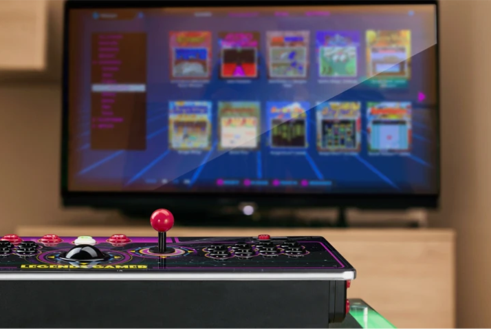 The Full Game List for the AtGames Legends Gamer and Gamer Pro - 150 Arcade and Console Games