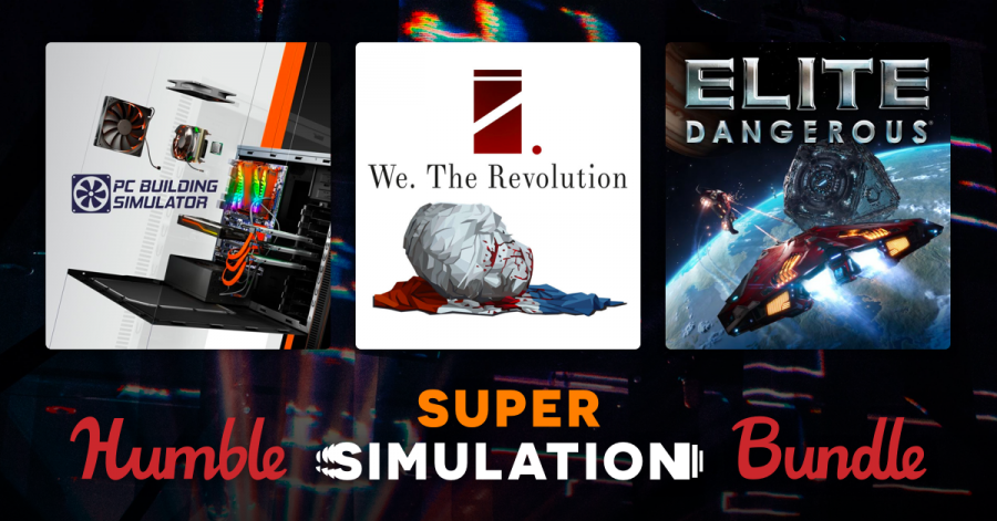 Pay what you want for PC Building Simulator, Elite Dangerous, the Hunter: Call of the Wild, and more in the Humble Super Simulation Bundle!