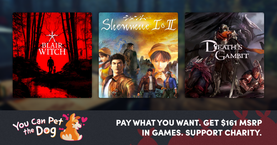 Name your price for great Steam games where you can pet the dog - Blair Witch (with Good Boy Pack), Shenmue 1&2, Death's Gambit, and more!