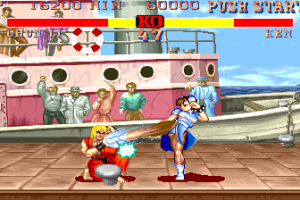 1991 Classic Street Fighter II Transformed Into an Online Slot