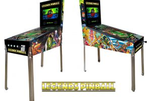 More details on the full-size Legends Pinball, virtual pinball machine, revealed - out soon!