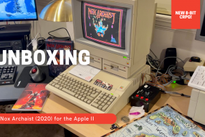Nox Archaist - 2020 CRPG for the Apple II - Unboxing!