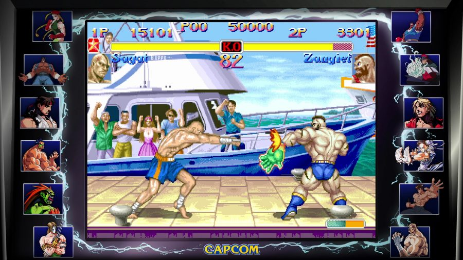 Best Stages in Street Fighter Games