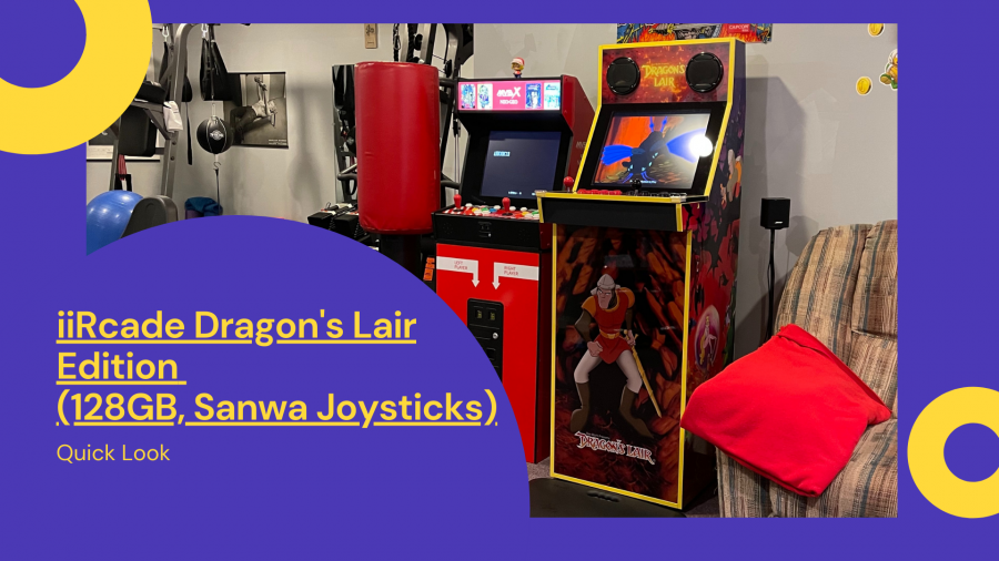 Video: Quick look at iiRcade Dragon's Lair Edition (128GB, Sanwa Joysticks)
