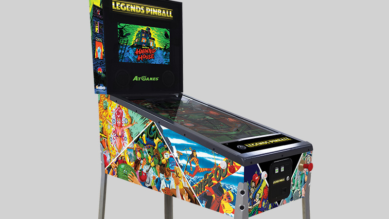 PR: AtGames® Announces Partnership with Just For Games for Premier Launch of Legends Pinball in France