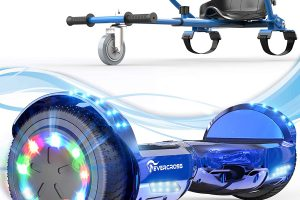 Review: EverCross Hoverboard with hovercart seat attachment