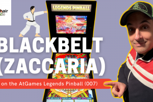 Video: Blackbelt (Zaccaria) on the AtGames Legends Pinball (007)