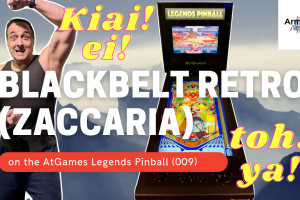 Video: Blackbelt Retro (Zaccaria) on the AtGames Legends Pinball (009)