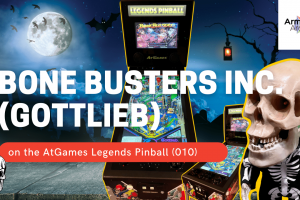 Gameplay video of Bone Busters Inc. (Gottlieb) on the AtGames Legends Pinball (010)