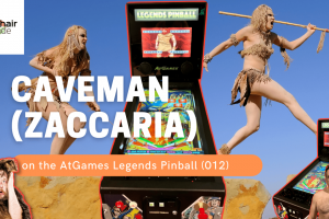 Gameplay video of Caveman (Zaccaria) on the AtGames Legends Pinball (012)