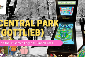 Gameplay video of Central Park (Gottlieb) on the AtGames Legends Pinball (014)