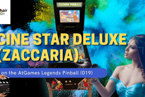 Gameplay video of Cine Star Deluxe (Zaccaria) on the AtGames Legends Pinball (019)