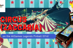 Gameplay video of Circus (Zaccaria) on the AtGames Legends Pinball (016)