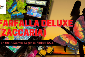 Gameplay video of Farfalla Deluxe (Zaccaria) on the AtGames Legends Pinball (021)