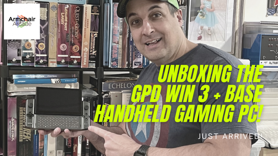 Video: Unboxing the GPD WIN 3 (Black)1165G7 + Base handheld gaming PC!