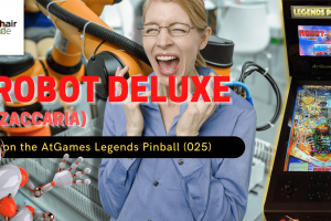 Gameplay video of Robot Deluxe (Zaccaria) on the AtGames Legends Pinball (025)